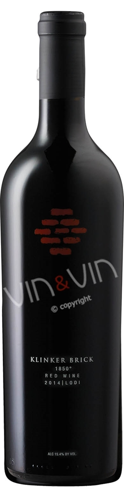 Klinker Brick Winery - 1850 Red Wine 2014