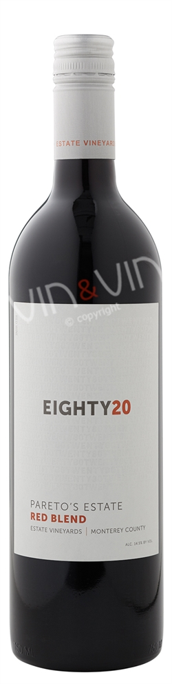 Pareto´s Estate - Eighty20 Red Blend 2015