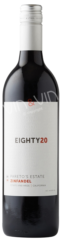 Pareto´s Estate - Eighty20 Zinfandel 2016